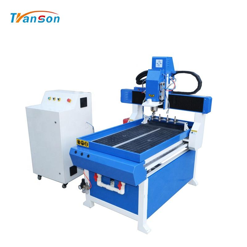6090 Mini ATC Wood CNC Router For Aluminum Wood Plastic Engraving