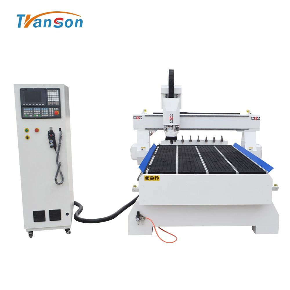 ATC 1300*2500 router working machinery 3D NK260 controller cnc router wood cutter carving machine to make wooden doors
