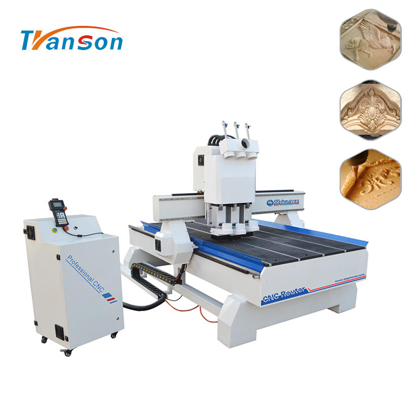 9kw HSD Taiwan Syntect System Atc Cnc Router Machine