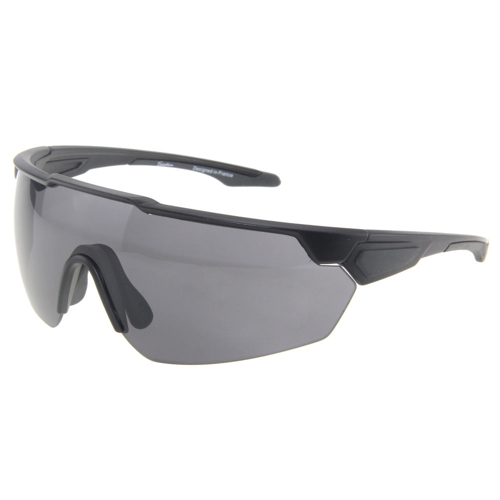 EUGENIA Black Color Classical Men Cycling High Quality Rimless China Manufacture PC Sport Sunglasses