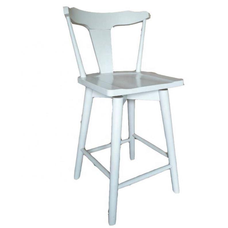 Adirondack French Stool Wood Chair