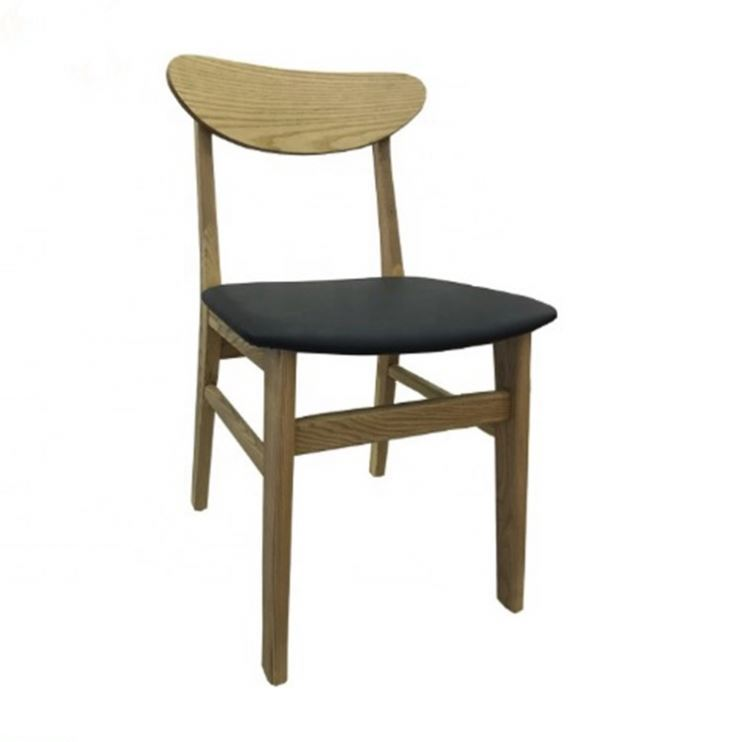 Restaurant cafe furniture simple design antique style vintage wooden dining chair