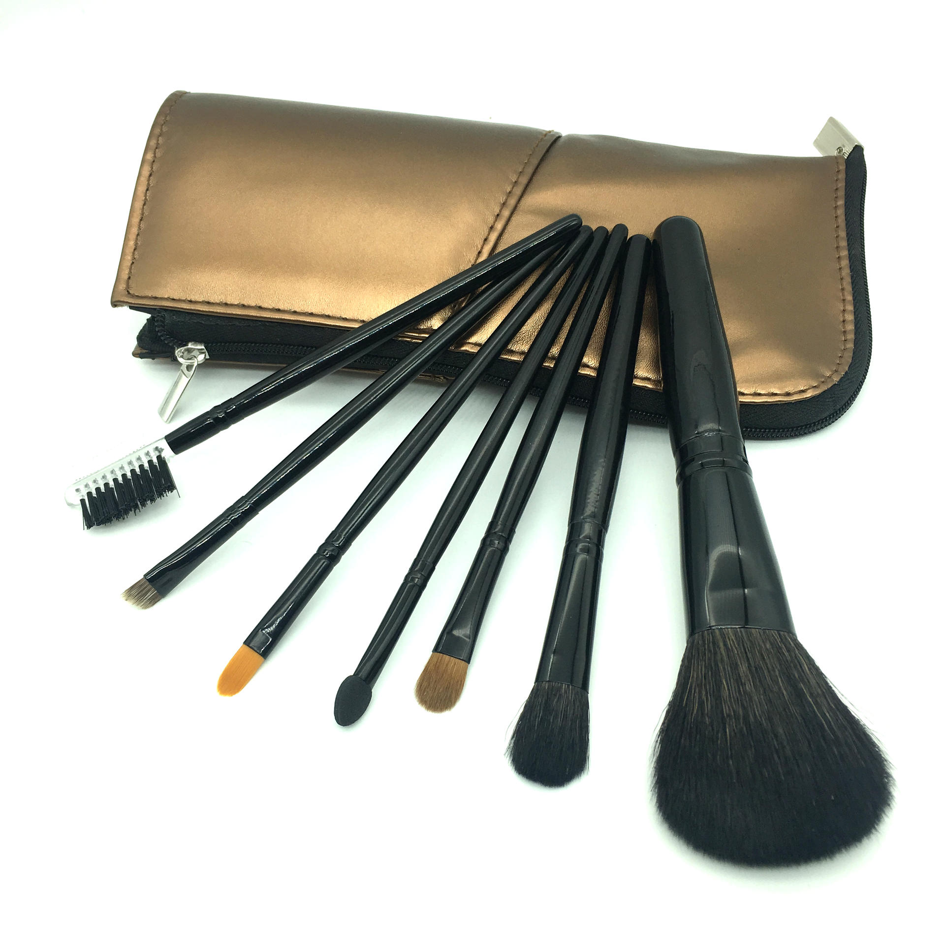 Daily tool bling Customized New portable makeup bag cosmetic Powder brush