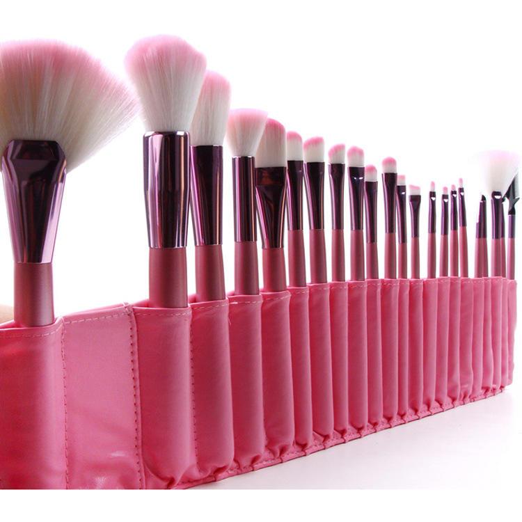 Hot selling makeup brush travel essential blue makeup brush set