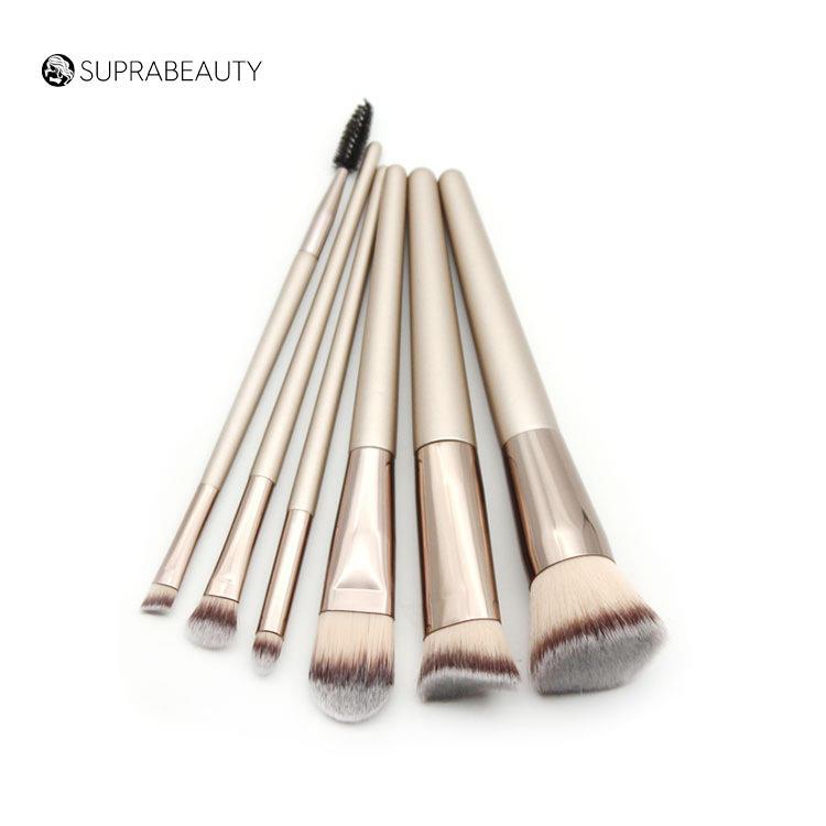 Jaf Glitter Hair Liner Flat White Eco Friendly Set 6pcs Makeup Brush Brand