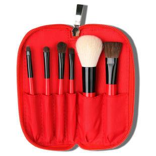 Wood Makeup Set Handle Kabuki Make Up jaf Cosmetic Manufacturer White Marble Brushes