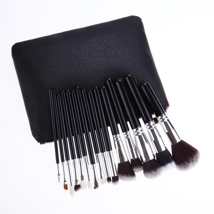 Hot !!! Good quality brand makeup brush set/best professional makeup brush set