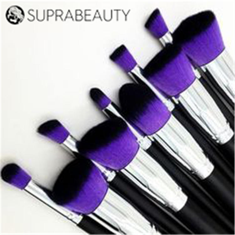 Curelty free washable extremely soft synthetic fiber brush makeup tools