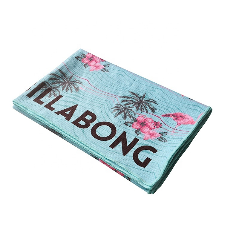 microfiber print flamingo beach towel for sand proof