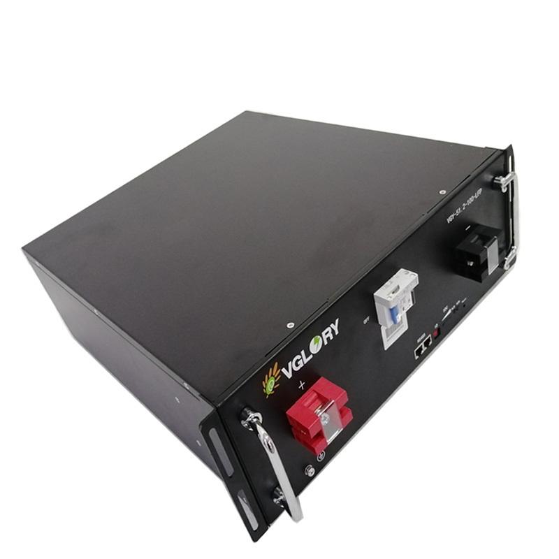 OEM accept Custom capacity storage battery 48v 100ah lithium battery