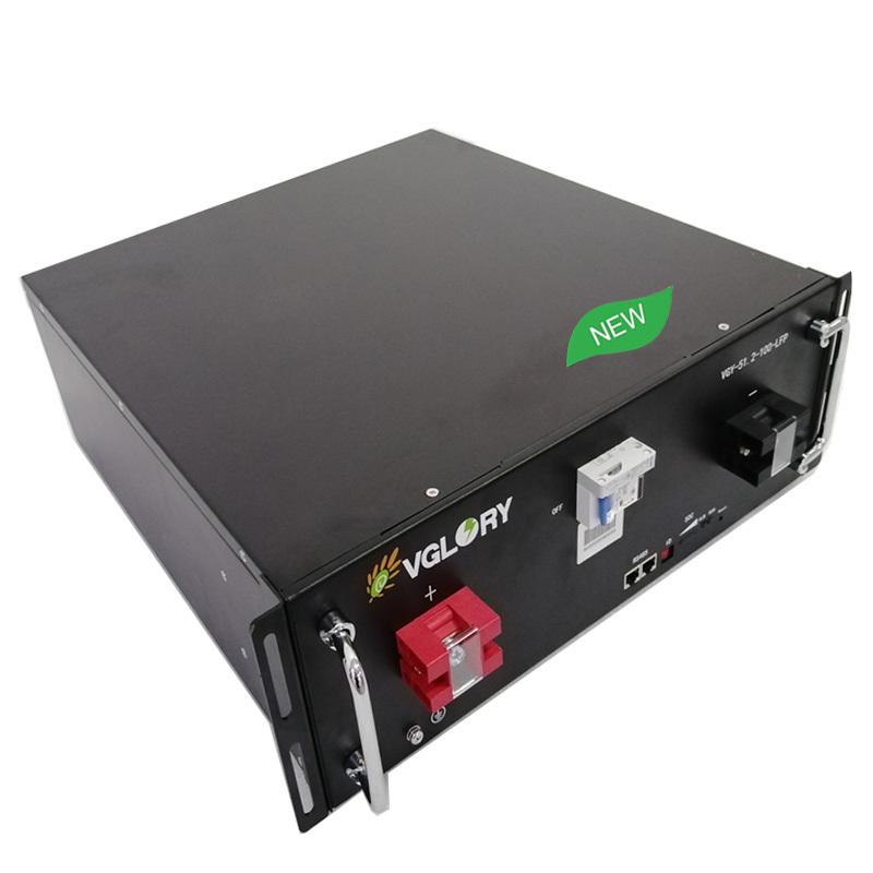 Volt Front Terminal 5g Battery Ups Custom Free Maintenance Akku 48v 50ah Telecom Lithium Batteries