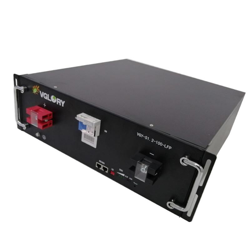Intelligent management system solar battery storage systems 48v 100ah lithium battery