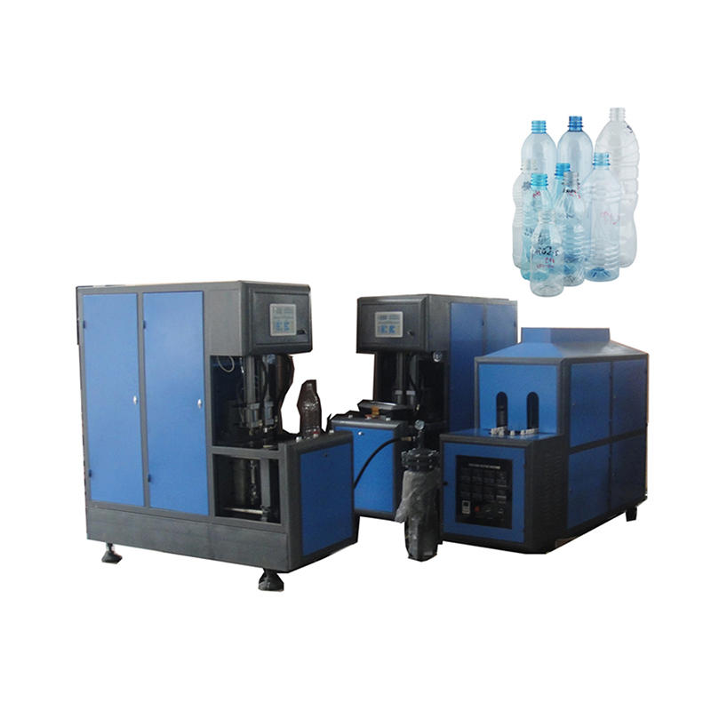 Semi-auto PET Blow Moulding Machine for Bottle from 250ml to 10L