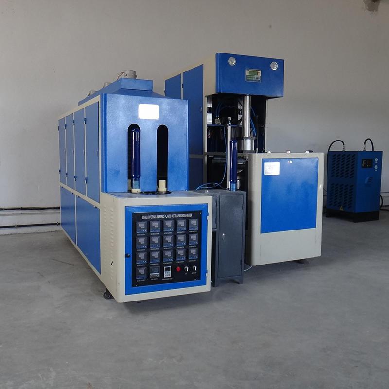 Semi Automatic 20 Liter Pet Water Bottle Blow Molding Making Machine