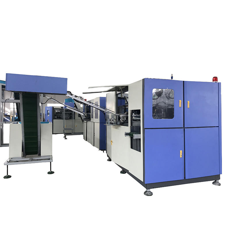 4 Cavity Fully Automatic High Speed Plastic Pet Bottle Stretch Blow Moulding Machine
