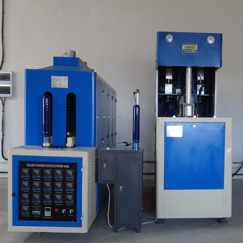 Mineral water bottles semi automatic pet blowing machine