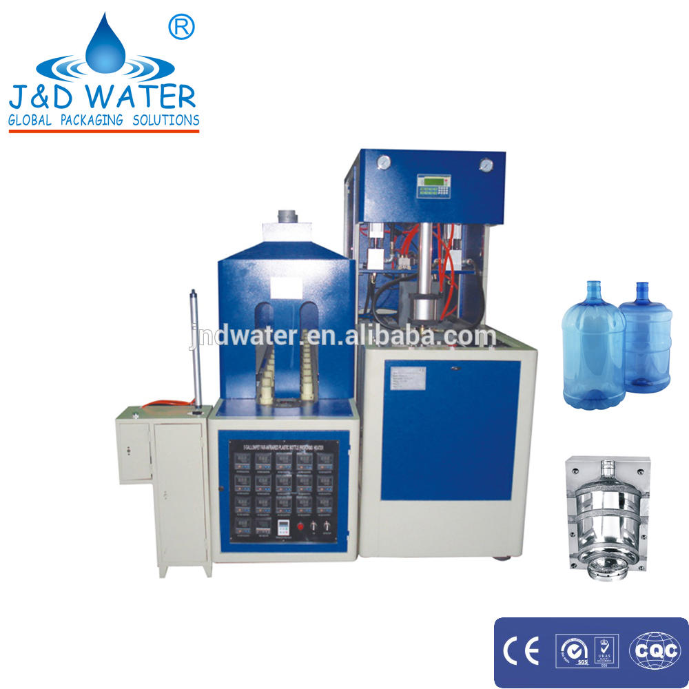 PET bottle semi-auto stretch blow moulding machine