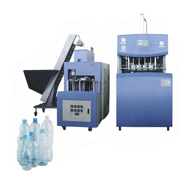 Number of cavities 4 semi-automatic PET bottle blow molding machine