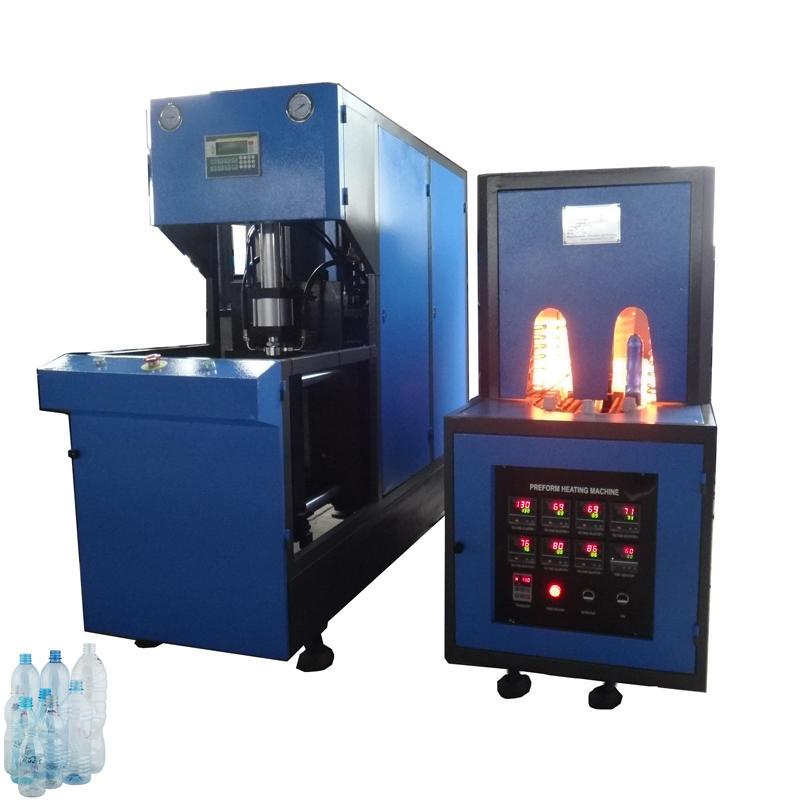 semi automatic bottle blowing machine for water bottle juice bottle