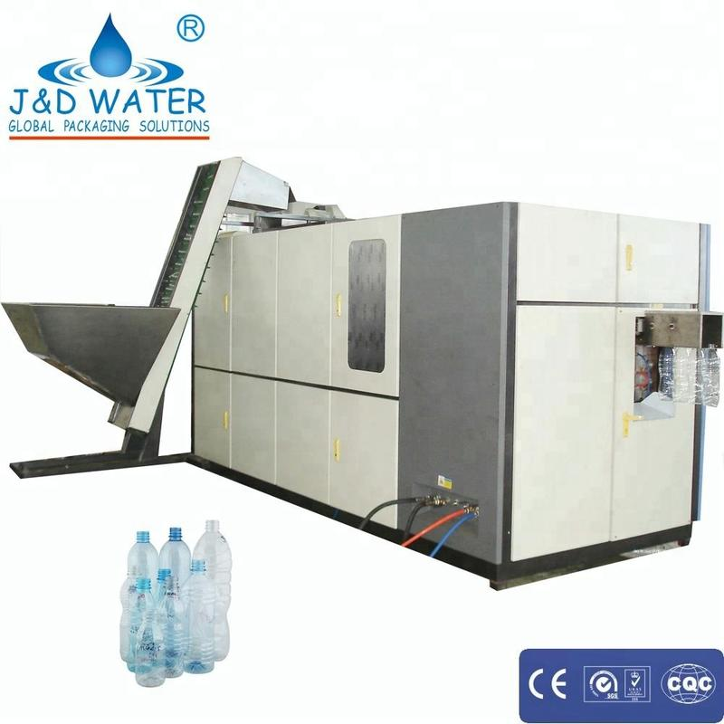 NEW Automatic Output 4000BPH Blow Molding Machine