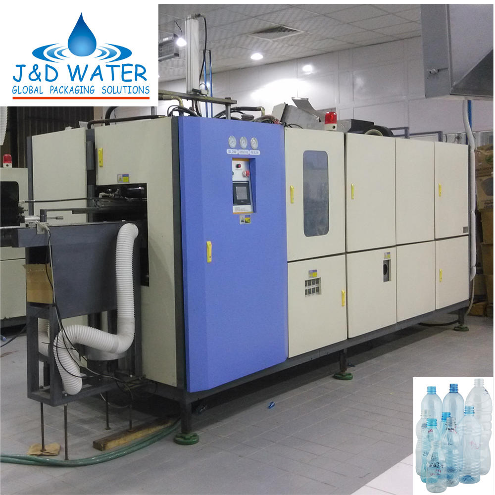 Customized design automatic pet bottle stretch blow molding machine price