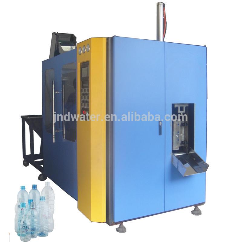 Automatic plastic water bottle blow molding machine