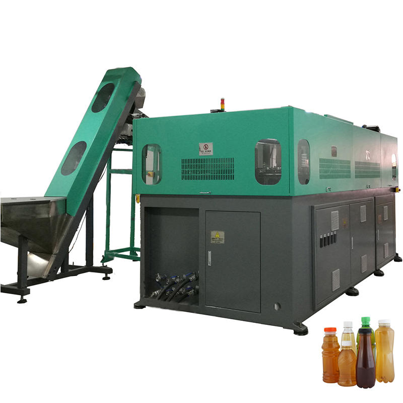 Low price PET/plastic mineral water bottle blowing moulding machine
