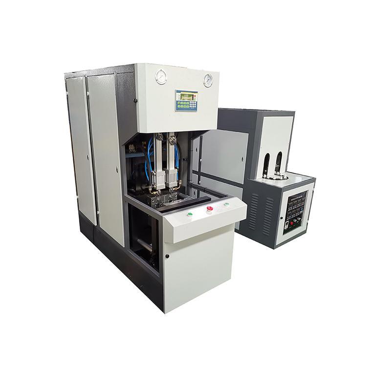 CE Certification 0.2-2l semi auto soft drink pet bottle blowing machine