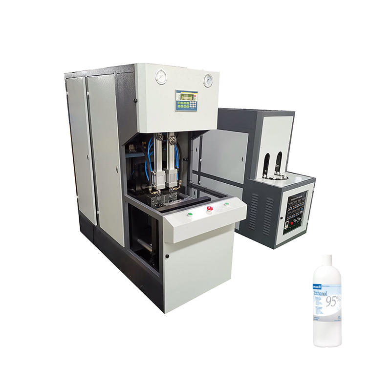 CE Certification Plastic Bottle stretch Blow Molding Machine-semi automatic