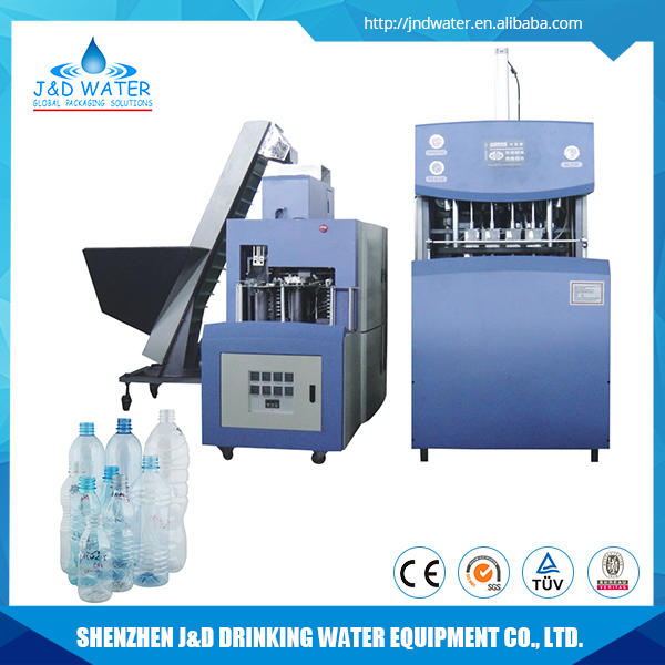 High quality components automatic 4 cavity blow molding machinery for PET bottle