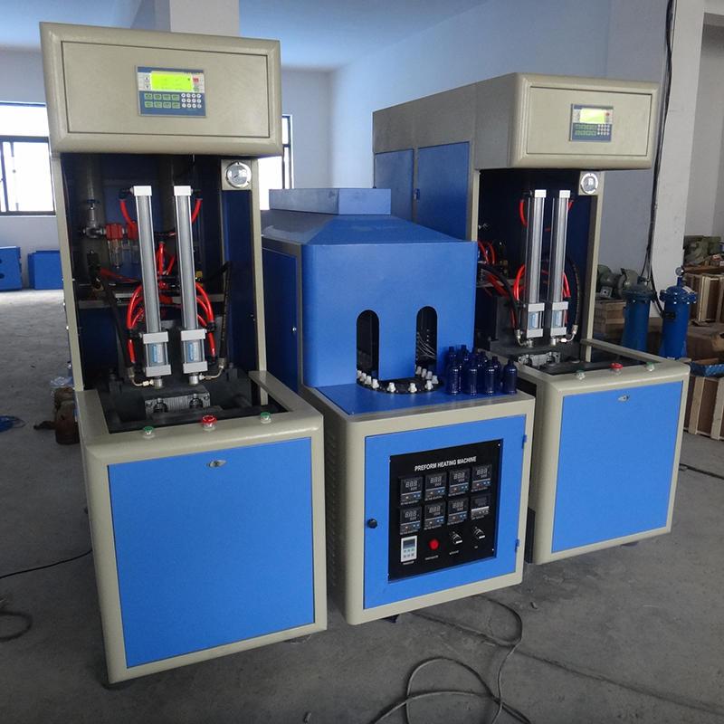 Semi automatic 1 gallon water bottling machine blow mold machine