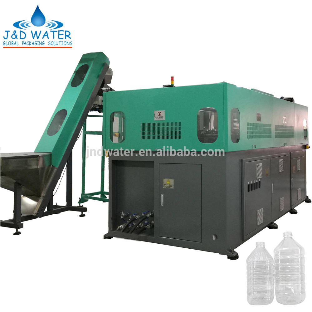 Fully Automatic Big PET Oil Bottle Stretch Blow Molding Machine