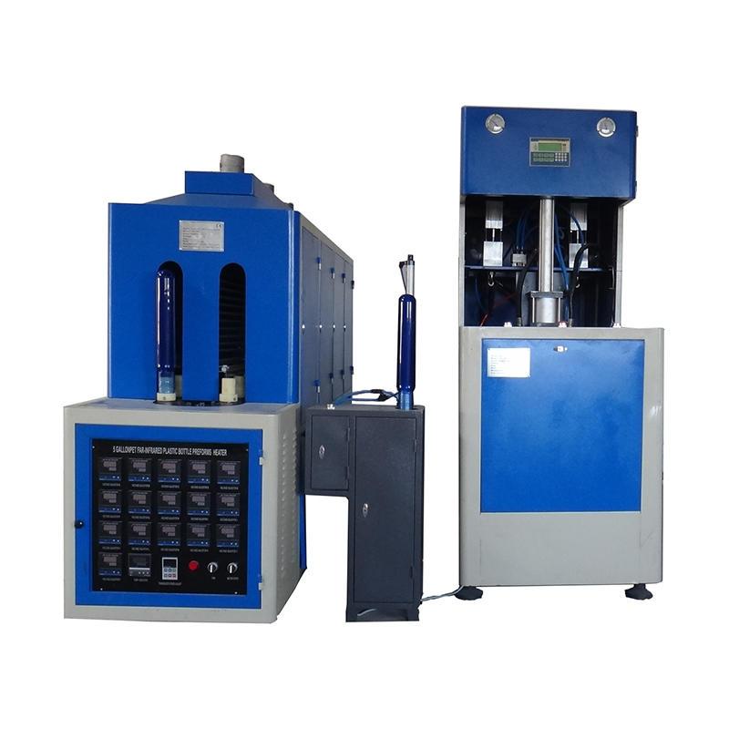 Semi automatic 5 gallon pc bottle blow molding machine 20l pet bottle making machine