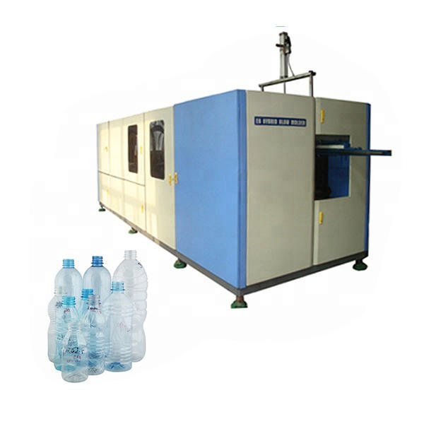 Low price PET plastic mineral water bottle blowing machine