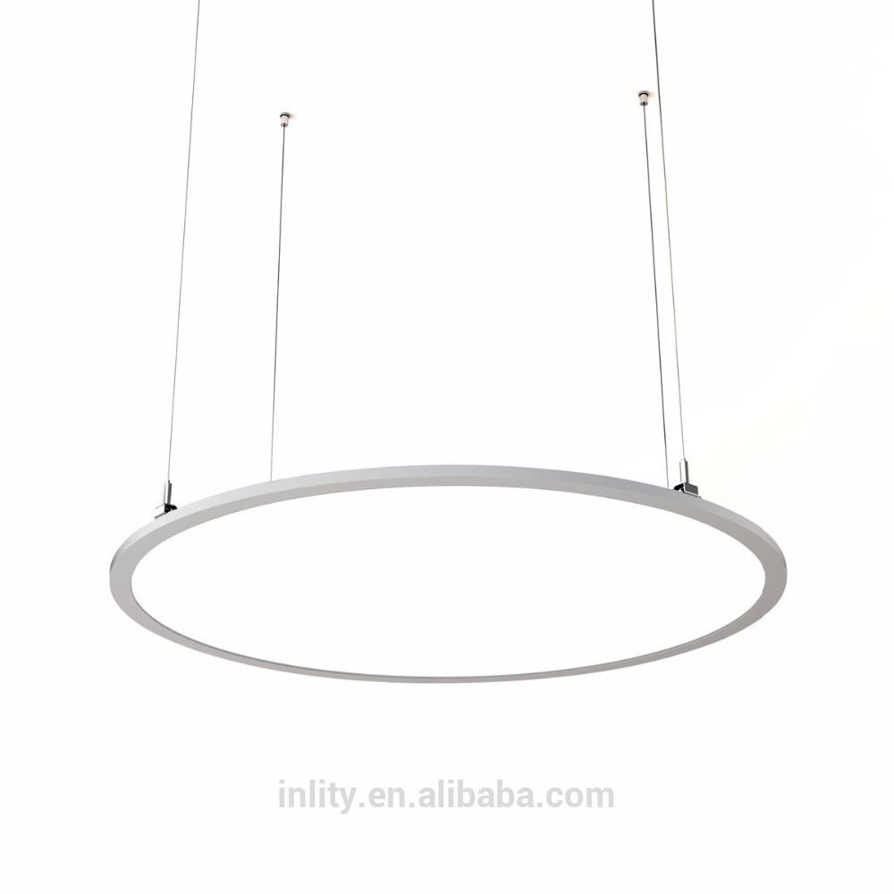 24W Modern Pendant Light,400mm Surface Mounted Round Panel Led Light