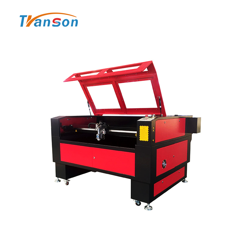 TSH1390 type mixed use laser machine for metal and nonmetal cutting and engraving