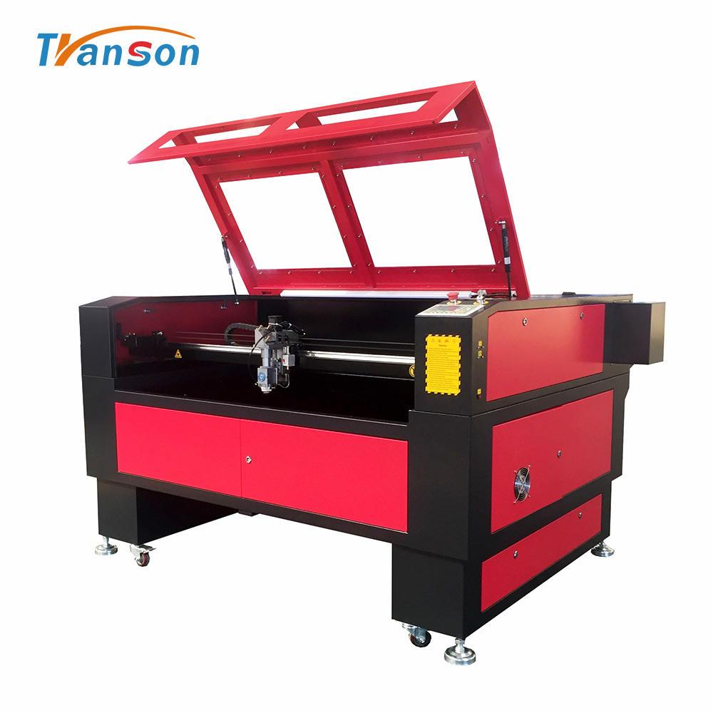 good quality Transon 1390 nonmetal and sheet metal laser cutting 180W machine price