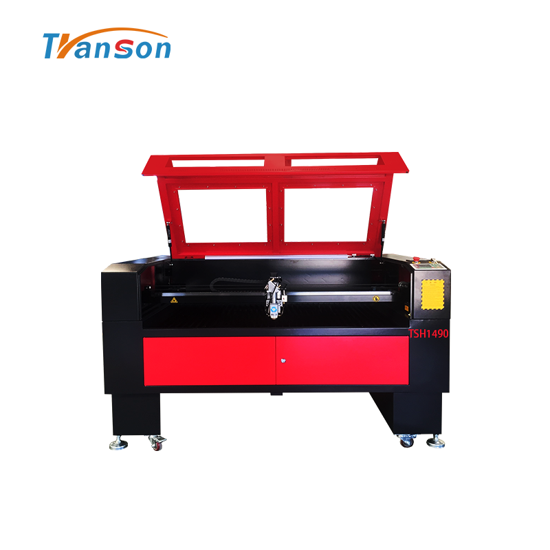 Widely used TSH1490 type CO2 laser machine for metal and nonmetal cutting and engraving