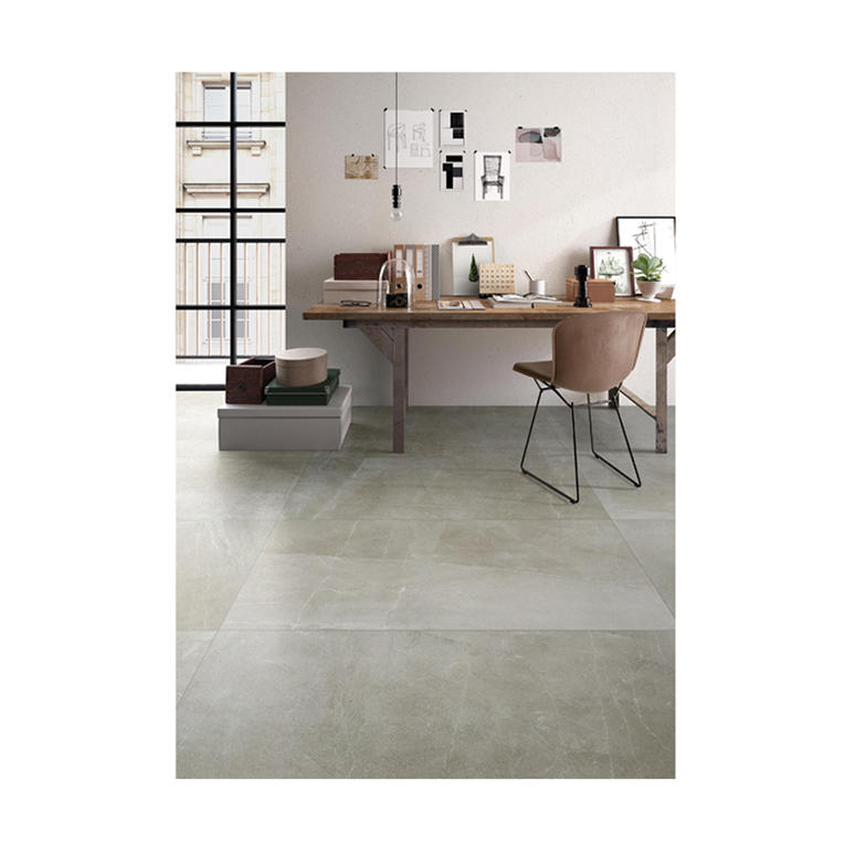 1st grade grey color cement look porcelain tile