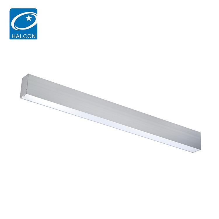 School office lighting 4ft 30w 40w steel smd led pendant light