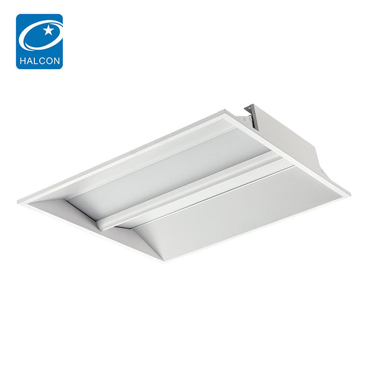 CE ETL Certification Smart Curved recessed 30w 45w Led troffer lamp
