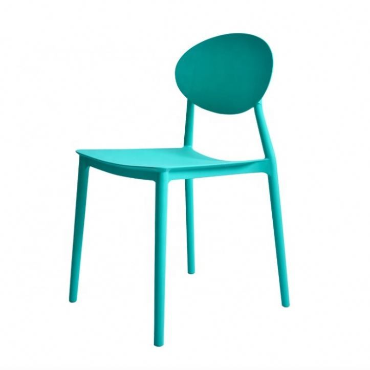 Training Office Office Round Yellow Conference Plastic Chair