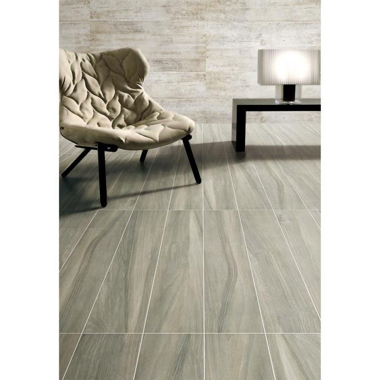 Fireproof ceramic wood tiles