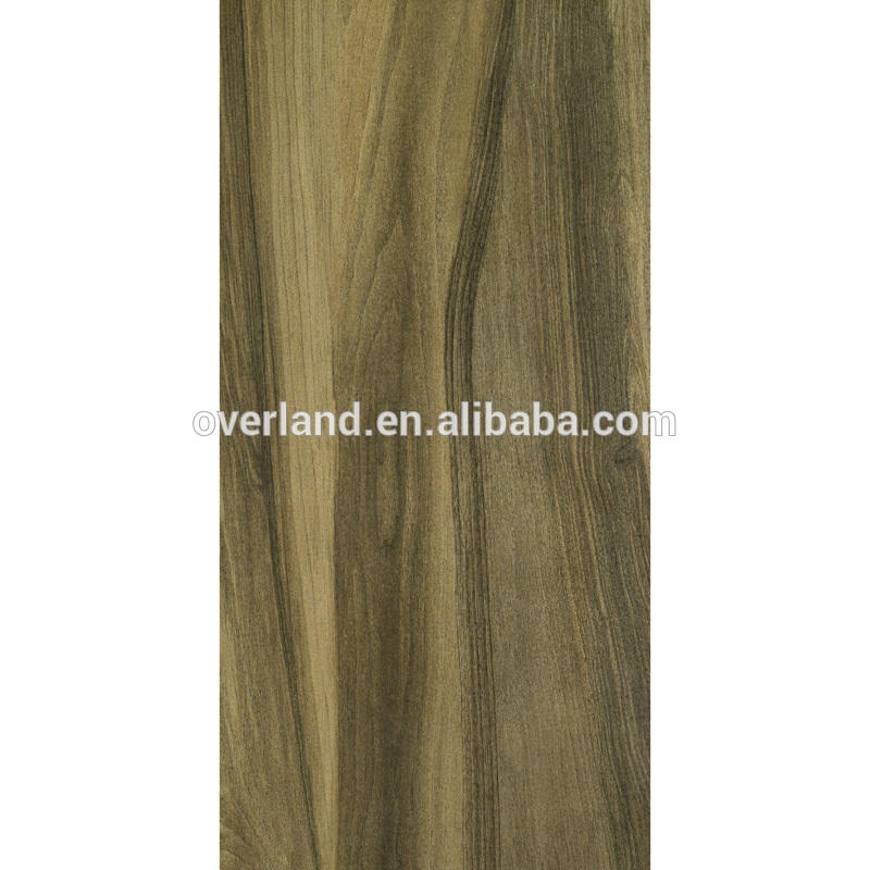 Wood tiles and building material