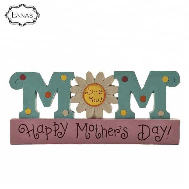 Resin Craft Handmade Models Words Decoration Beautiful Mom Gifts