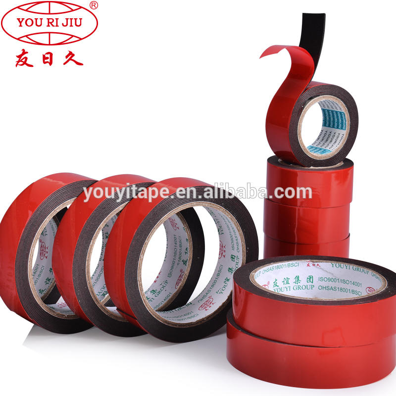 Good Quality Custom Thickness Green Liner Red LinerPEDouble SidedFoamTapeEVA Tape