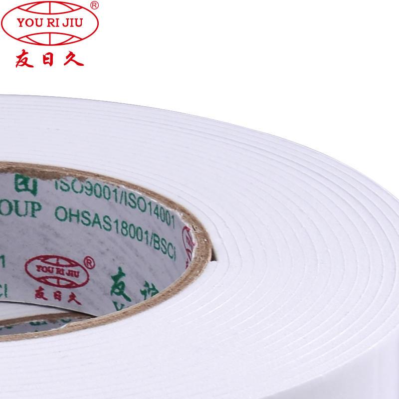 PE/EVA Double Sided Foam Backed Tape
