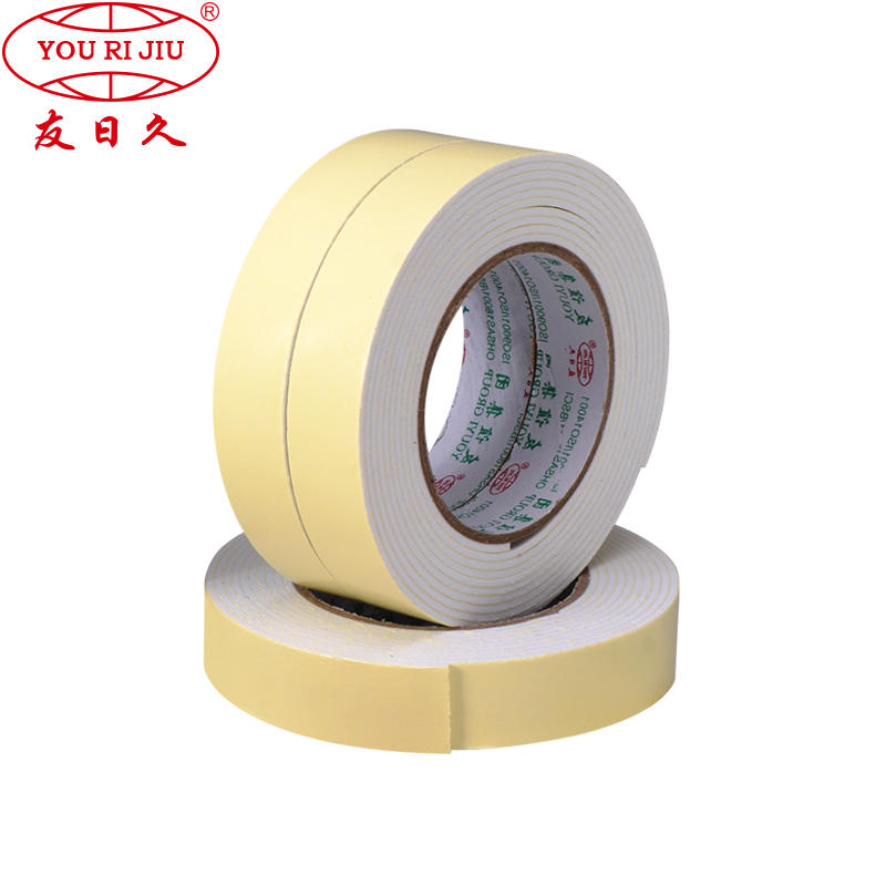 EVA Double Side Foam Tape (Tissue Carrier Coated With Acrylic or Solvent Adhesive)