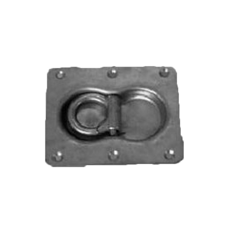 Lashing Ring Steel Lashing Ring With Plate For Truck And Trailer-026505/026505-In