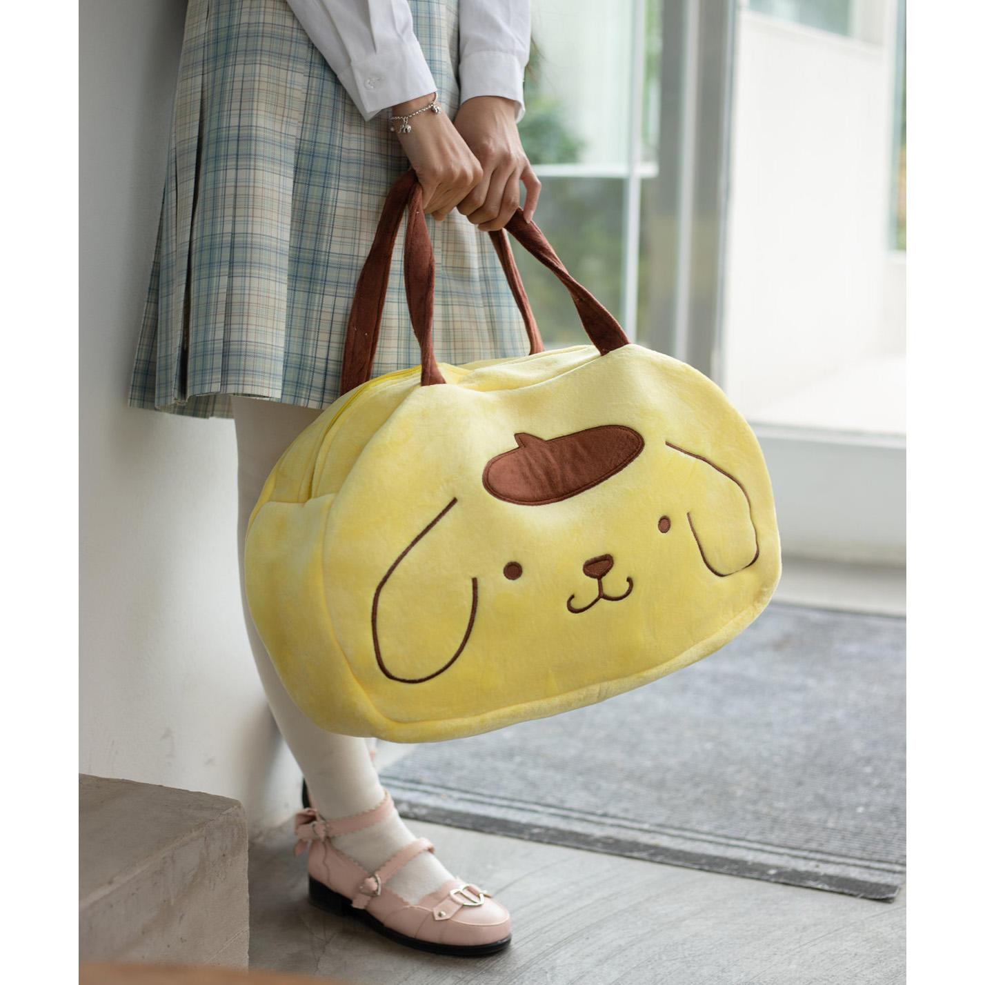 Plush Shoulder Bags Animal Women's Plush Bag shoulder High Capacity Portable Cartoon Bag For Shopping cute Handbag